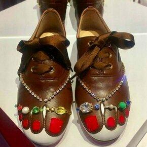 Что же это за обувь!? фото приколы