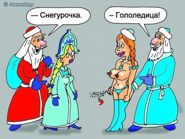 Карикатуры в новый 2012 год 17