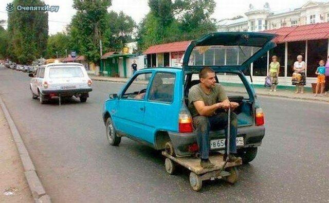 Пьяный водитель, с пеньком вместо сиденья, задержан патрульными в Ивано-Франсковске - Цензор.НЕТ 4054