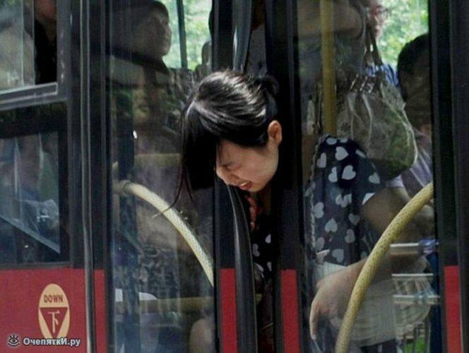 Странности в автобусах 1