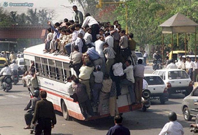 Странности в автобусах 3