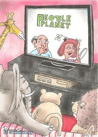 Политические карикатуры 1