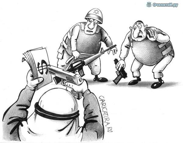 Политические карикатуры 14