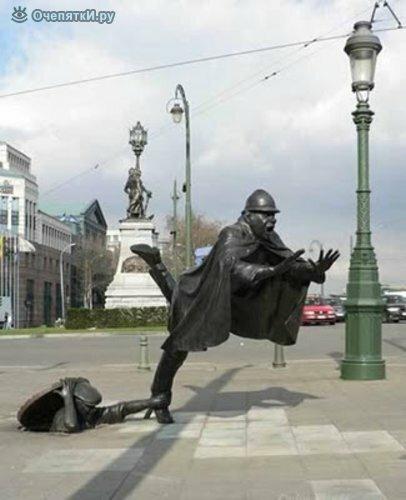 Самые неординарные скульптуры 6