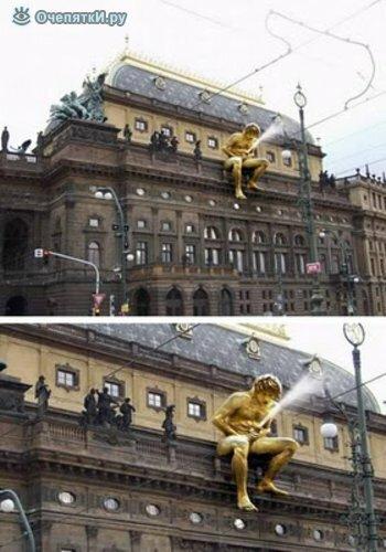 Самые неординарные скульптуры 7