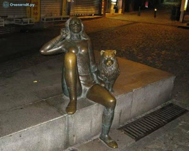 Самые неординарные скульптуры 9