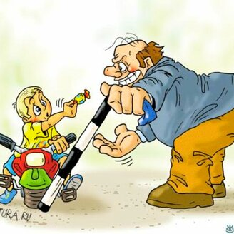 Приколы в карикатурах
