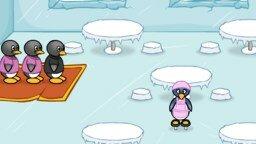 Пингвиний ресторан мини игра