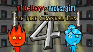 Огонь и вода 4: в кристаллическом храме мини игра