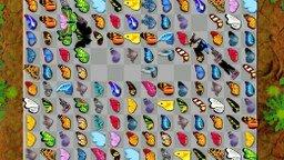 Играть Маджонг с бабочками