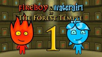 Огонь и вода мини игра