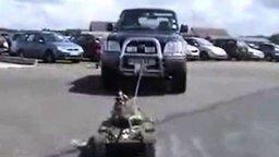 Мощная модель танка смотреть видео прикол - 1:40