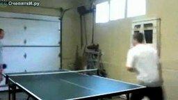 10 секунд настольного тенниса смотреть видео прикол - 0:15