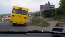 Автобус-убийца смотреть видео прикол - 0:54