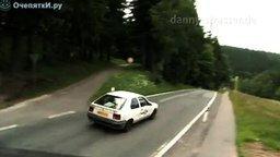 Самая скоростная езда на колёсиках смотреть видео прикол - 3:09
