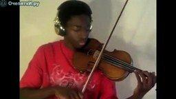 Смотреть Эминем на скрипке