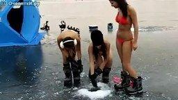 Девушки рыбачат смотреть видео - 0:25