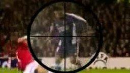 Футбольный снайпер