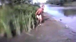 Мне море по колено! смотреть видео прикол - 2:45