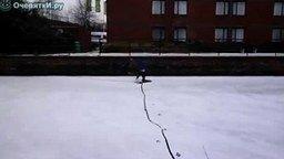 Смотреть Эпический переход по льду