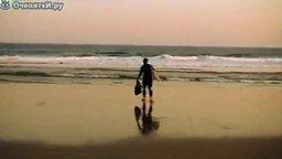 Смотреть Рыбалка с пляжа