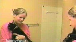 Смотреть Умоляющие вопли кота