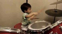 Начинающий барабанщик смотреть видео - 1:14