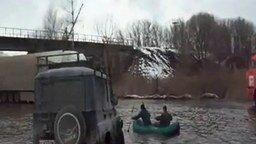 Смотреть Рыбаки - они и на дороге рыбаки