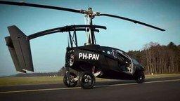 Настоящее авто, которое летает смотреть видео - 1:37
