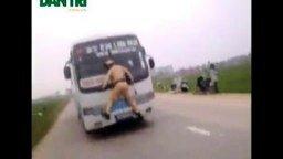 Захватил автобус что ли? смотреть видео прикол - 0:47