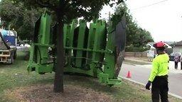 Машина для посадки деревьев смотреть видео - 3:05