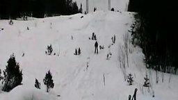 Сальто на лыжах не удалось смотреть видео прикол - 0:21