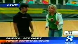 Репортер скейтбордист