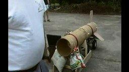 Смотреть Опасный запуск ракеты