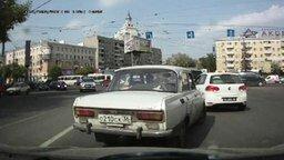 Смотреть Растерялся на Москвиче