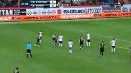 Прикольная футбольная игра смотреть видео прикол - 3:38