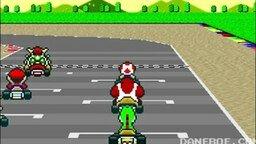 Смотреть Чак Норрис против Марио на гонках