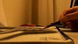 Смотреть Объёмный карандашный рисунок