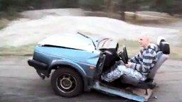 Самый короткий спорткар смотреть видео прикол - 1:31