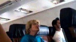 Смотреть Безумная бабуля в самолёте