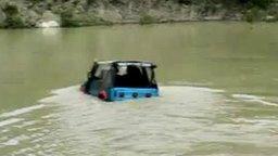 Внедорожник на реке смотреть видео прикол - 1:36