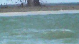 Извержение в море смотреть видео - 1:17