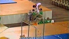 Красивая и точная гимнастка смотреть видео - 1:03