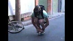 Минивелосипедик смотреть видео прикол - 0:21