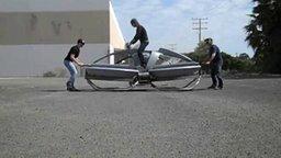 Смотреть Летающий байк из будущего