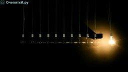 Смотреть Вечный двигатель из лампочек