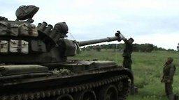 Прочистка ствола танка смотреть видео прикол - 1:40