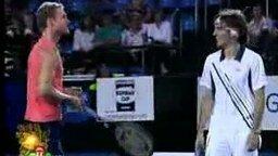 Юмор в теннисе смотреть видео прикол - 2:48