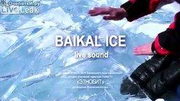 Игра на льдинах Байкала смотреть видео - 3:47