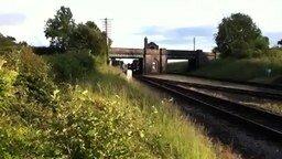 Странная железная дорога смотреть видео прикол - 0:48
